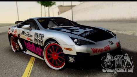 Lexus LFA 2010 Kaneki Ken Itasha pour GTA San Andreas
