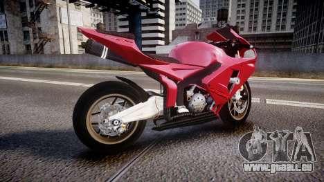 Honda CBR600RR pour GTA 4 est une gauche