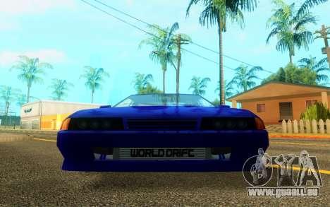 Elegy WorldDrift v1 pour GTA San Andreas laissé vue