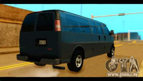 GMC Savana 3500 Passenger 2013 für GTA San Andreas linke Ansicht