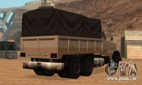 Barracks Fixed pour GTA San Andreas vue arrière