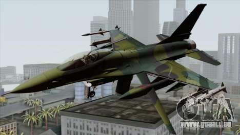 F-16C USAF CAS-EURO pour GTA San Andreas