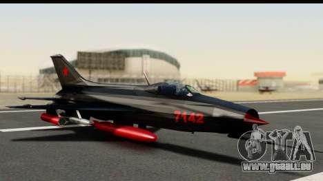 MIG-21F Fishbed B URSS Custom pour GTA San Andreas