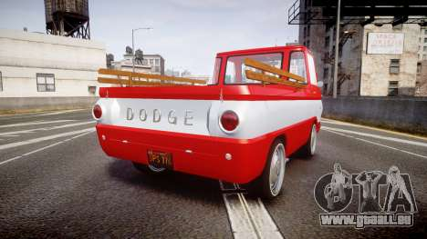 Dodge A100 Pickup 1964 pour GTA 4 Vue arrière de la gauche