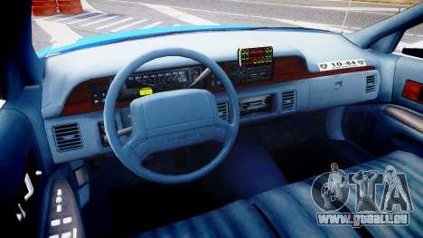 Chevrolet Caprice 1994 LCPD Patrol [ELS] für GTA 4 Rückansicht