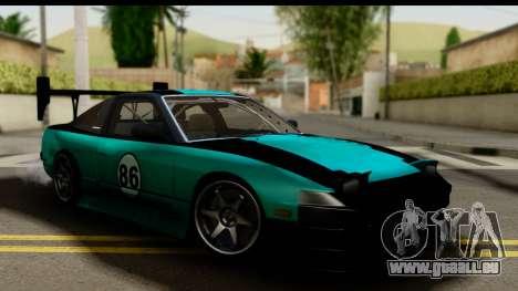 Nissan 200SX S13 Skin pour GTA San Andreas