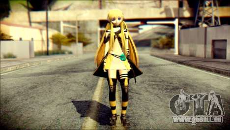 Lilly from Vocaloid pour GTA San Andreas