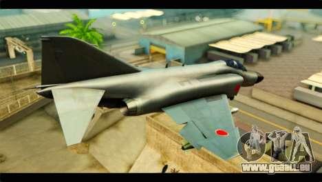Mitsubishi F-4J JASDF pour GTA San Andreas laissé vue