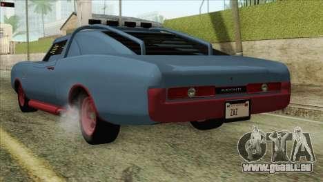 GTA 5 Imponte Dukes ODeath HQLM pour GTA San Andreas laissé vue