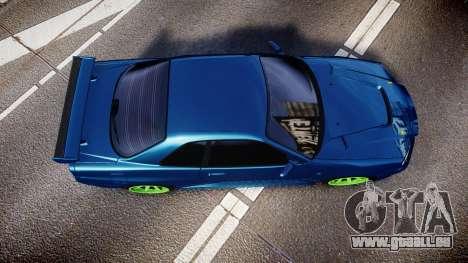 Nissan Skyline BNR34 GT-R V-SPECII 2002 für GTA 4 rechte Ansicht