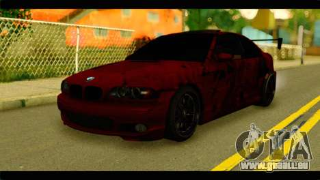 BMW 330 Tuning Red Dragon pour GTA San Andreas