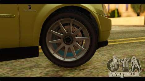 GTA 4 Presidente pour GTA San Andreas sur la vue arrière gauche