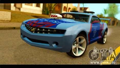 Chevrolet Camaro Indonesia Police für GTA San Andreas