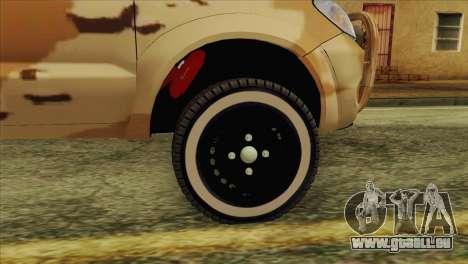 Toyota Hilux Siria Rebels without flag für GTA San Andreas rechten Ansicht