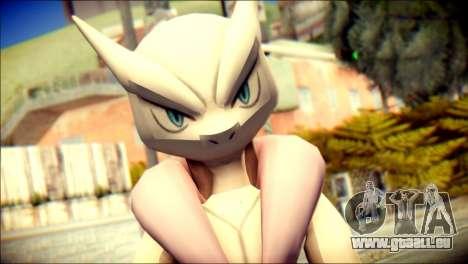 Mega Mewtwo X pour GTA San Andreas troisième écran