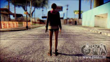 Moira Burton from Resident Evil pour GTA San Andreas deuxième écran