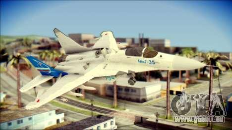 MIG-29 Fulcrum Reskin pour GTA San Andreas