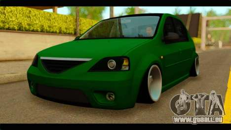 Dacia Logan Stance pour GTA San Andreas