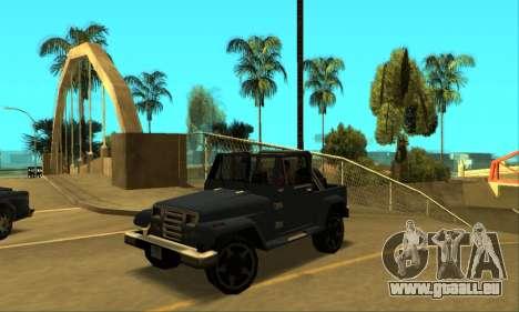 Mesa Final für GTA San Andreas linke Ansicht