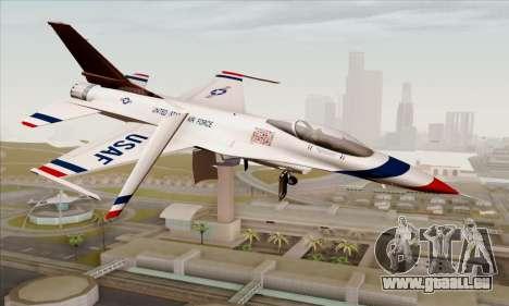 F-16C USAF Thunderbirds pour GTA San Andreas