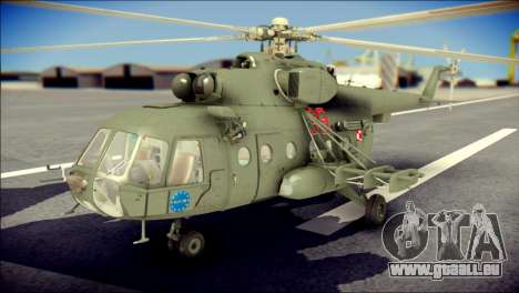 Mil Mi-8 Polish Air Force EUFOR pour GTA San Andreas