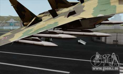 SU-35 Flanker-E ACAH für GTA San Andreas rechten Ansicht