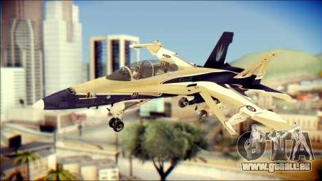 FA-18D Hornet RCAF für GTA San Andreas