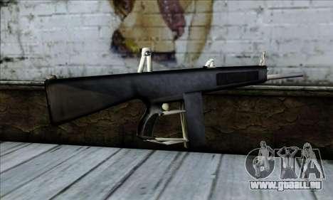 AA-12 Weapon pour GTA San Andreas deuxième écran