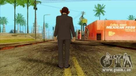 Skin from GTA 5 pour GTA San Andreas deuxième écran