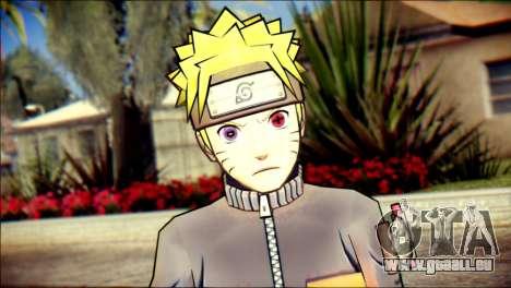 Naruto Skin pour GTA San Andreas troisième écran