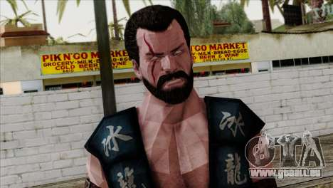 Sub-Zero Skin Mortal Kombat X pour GTA San Andreas troisième écran