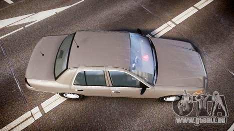 Ford Crown Victoria NYPD Unmarked [ELS] Old für GTA 4 rechte Ansicht