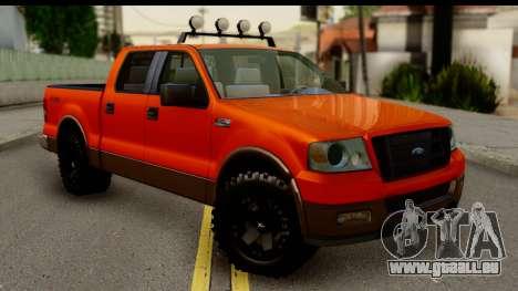 Ford F-150 4x4 für GTA San Andreas