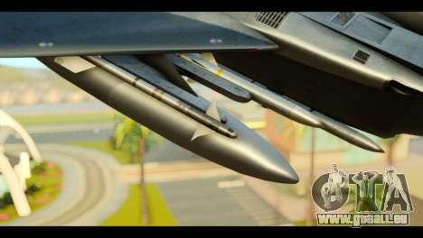 F-15C Eagle pour GTA San Andreas vue de droite