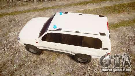 Toyota Land Cruiser 100 UEP [ELS] für GTA 4 rechte Ansicht