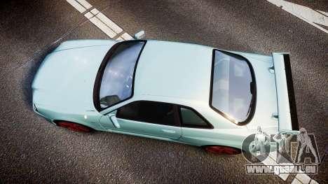 Nissan Skyline R34 GT-R M-Spec Nur für GTA 4 rechte Ansicht