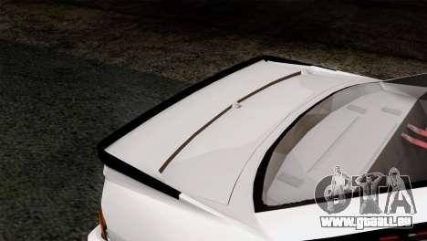 Opel Manta 400 v2 für GTA San Andreas Rückansicht