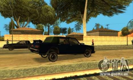 Beta VC Greenwood pour GTA San Andreas vue de dessous