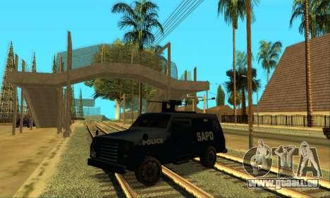 Beta FBI Truck für GTA San Andreas linke Ansicht