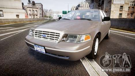 Ford Crown Victoria NYPD Unmarked [ELS] Old pour GTA 4