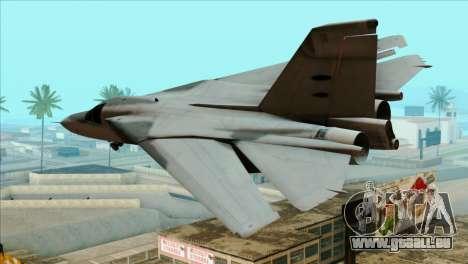 General Dynamics F-111 Aardvark für GTA San Andreas linke Ansicht