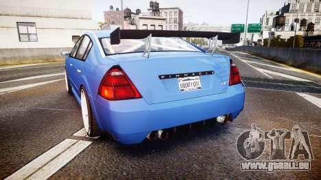 Annis Pinnacle RT pour GTA 4 Vue arrière de la gauche