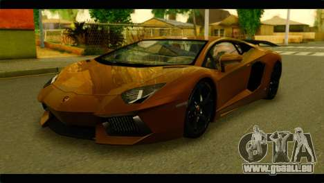 Lamborghini Aventador LP700-4 für GTA San Andreas