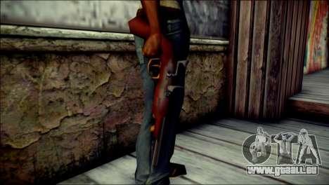 Tokisaki Kurumi Desert Eagle pour GTA San Andreas troisième écran