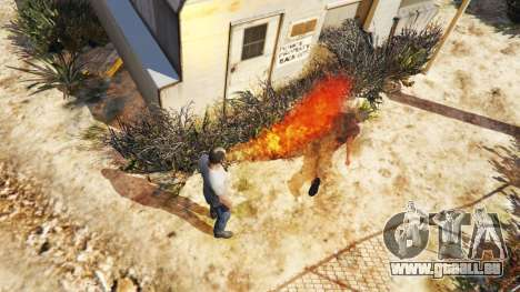 GTA 5 Feuer speienden zweite Screenshot
