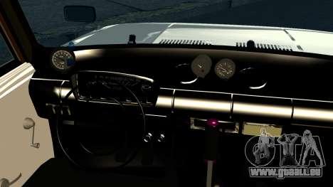VAZ 2101 Crampes pour GTA San Andreas vue intérieure