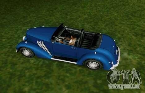 Hustler Cabriolet pour GTA San Andreas vue de droite