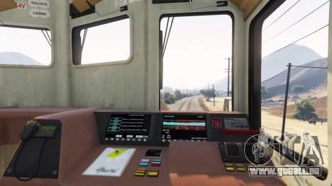 GTA 5 Lokführer dritten Screenshot
