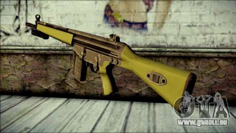 HK G3 Flashlight pour GTA San Andreas deuxième écran