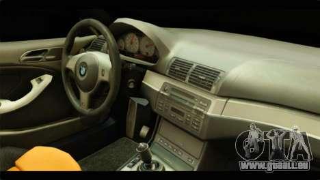 BMW 330 Tuning Red Dragon für GTA San Andreas Rückansicht